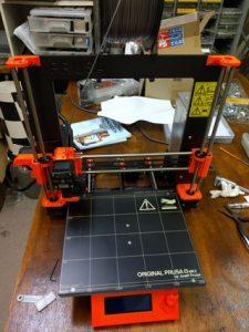 3Dプリンタの外観